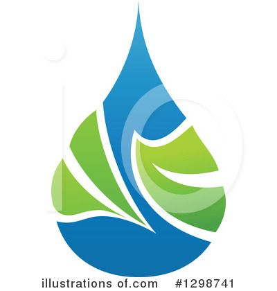 Water Drop Clipart #1298741 by elena