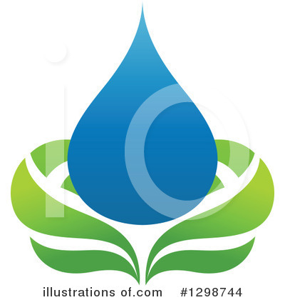 Water Drop Clipart #1298744 by elena