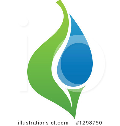 Water Drop Clipart #1298750 by elena
