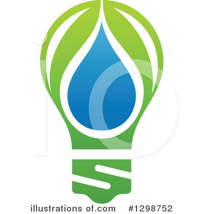 Royalty-Free (RF) Water Drop Clipart Illustration by elena - Stock Sample #1298752