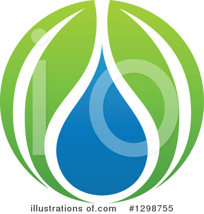 Water Drop Clipart #1298755 by elena