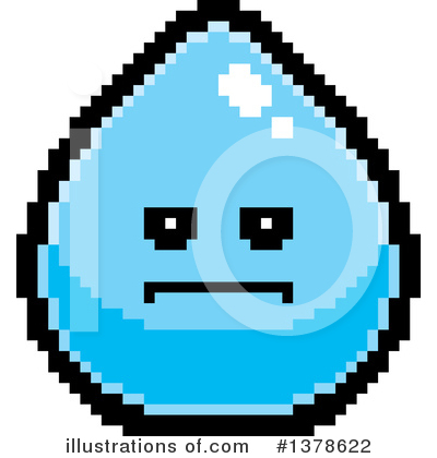 Water Drop Clipart #1378622 by Cory Thoman