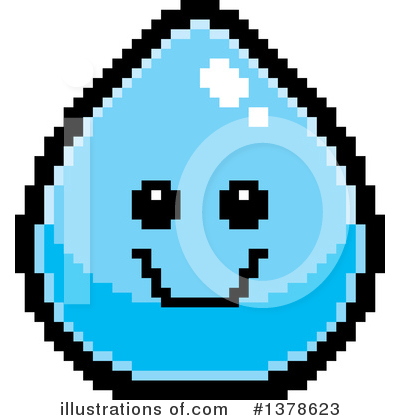 Water Drop Clipart #1378623 by Cory Thoman