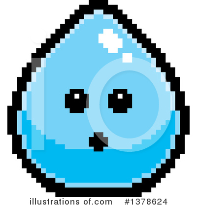 Water Drop Clipart #1378624 by Cory Thoman