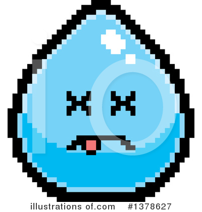 Water Drop Clipart #1378627 by Cory Thoman