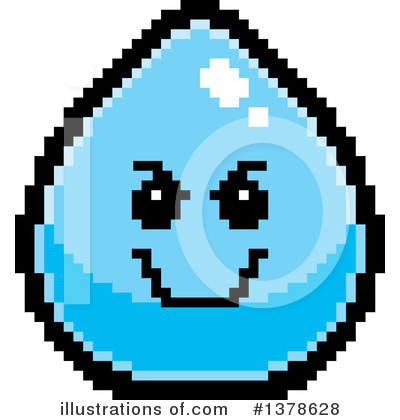 Water Drop Clipart #1378628 by Cory Thoman