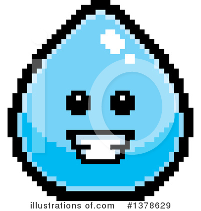 Water Drop Clipart #1378629 by Cory Thoman