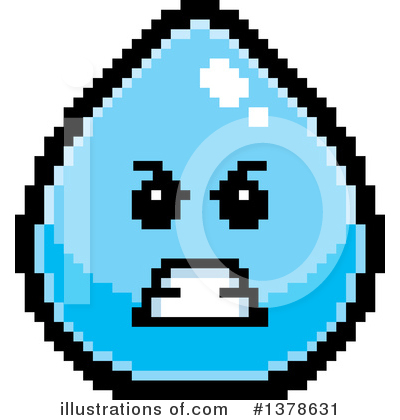 Water Drop Clipart #1378631 by Cory Thoman