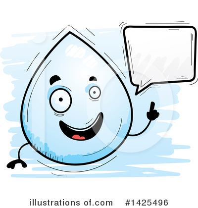 Water Drop Clipart #1425496 by Cory Thoman
