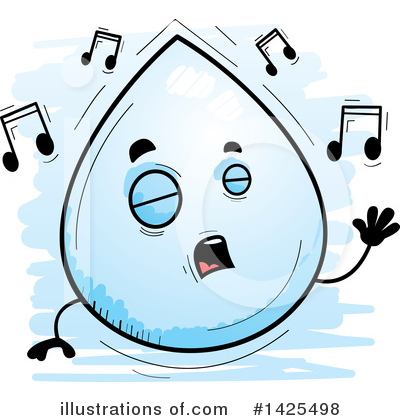 Water Drop Clipart #1425498 by Cory Thoman