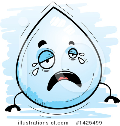 Water Drop Clipart #1425499 by Cory Thoman