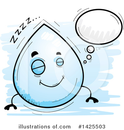 Water Drop Clipart #1425503 by Cory Thoman