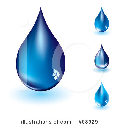 Water Drop Clipart #68929 by michaeltravers | Royalty-Free (RF) Stock ...