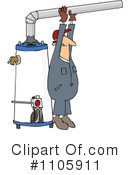 Water Heater Clipart #1105911 by djart