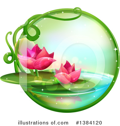 Pond Clipart #1384120 by BNP Design Studio