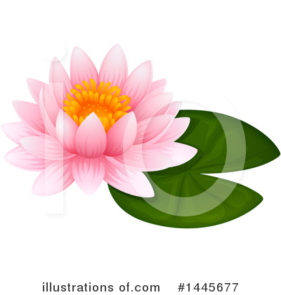 Lilies Clipart #1445677 by Graphics RF