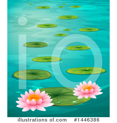 Water Lily Clipart #1446386 by Graphics RF