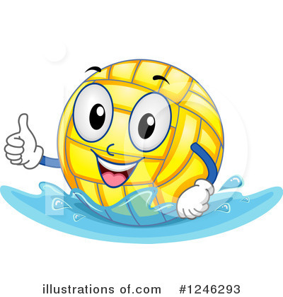 Water Polo Clipart #1246293 by BNP Design Studio