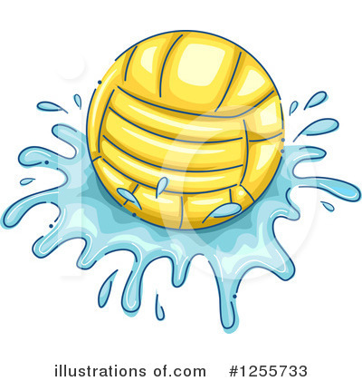 Water Polo Clipart #1255733 by BNP Design Studio