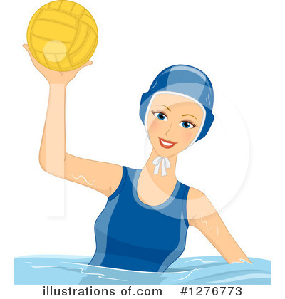 Water Polo Clipart #1276773 by BNP Design Studio