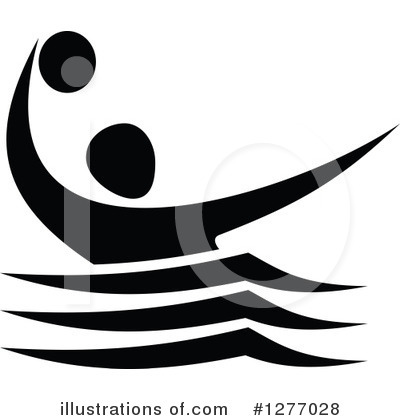 Water Polo Clipart #1277028 by Vector Tradition SM