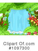 Royalty-Free (RF) waterfall Clipart Illustration #1097300