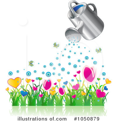 Flowers Clipart #1050879 by MilsiArt