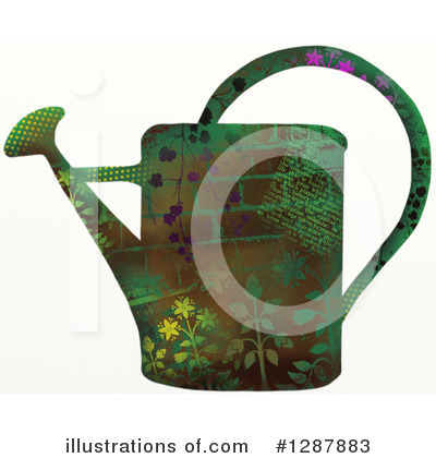 Royalty-Free (RF) Watering Can Clipart Illustration by Prawny - Stock Sample #1287883