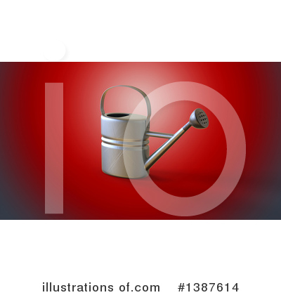 Royalty-Free (RF) Watering Can Clipart Illustration by Julos - Stock Sample #1387614