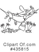 Royalty-Free (RF) Watering Clipart Illustration #435815