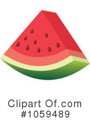 Watermelon Clipart #1059489 by Any Vector
