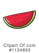 Watermelon Clipart #1134893 by Graphics RF