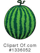 Watermelon Clipart #1336052 by Vector Tradition SM