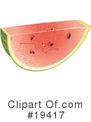 Watermelon Clipart #19417 by Vitmary Rodriguez