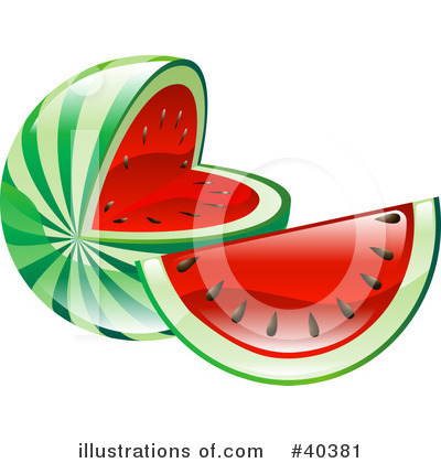 Fruit Clipart #40381 by AtStockIllustration