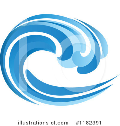 Wave Clipart #1182391 by Vector Tradition SM