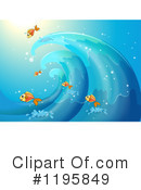Wave Clipart #1195849 by Graphics RF