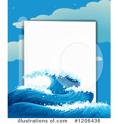 Waves Clipart #1206436 by Graphics RF