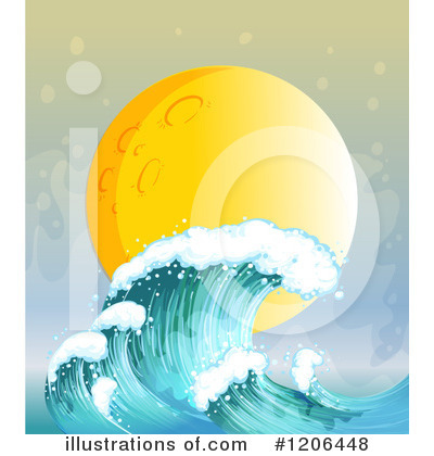 Waves Clipart #1206448 by Graphics RF
