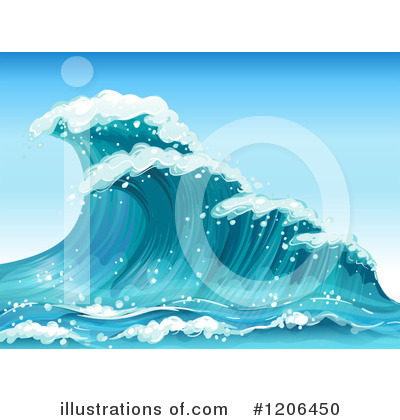 Waves Clipart #1206450 by Graphics RF
