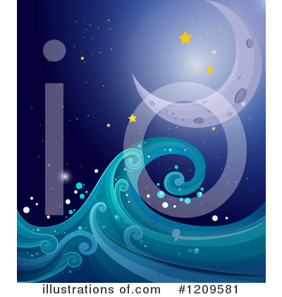 Waves Clipart #1209581 by Graphics RF