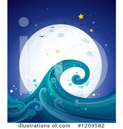 Wave Clipart #1209582 by Graphics RF