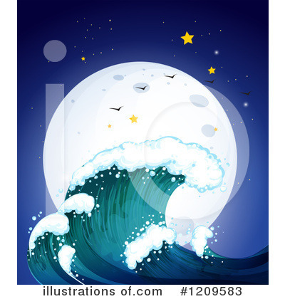 Waves Clipart #1209583 by Graphics RF