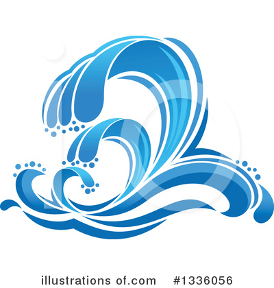 Tsunami Clipart #1336056 by Vector Tradition SM