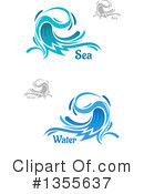 Wave Clipart #1355637 by Vector Tradition SM