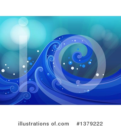 Waves Clipart #1379222 by Graphics RF