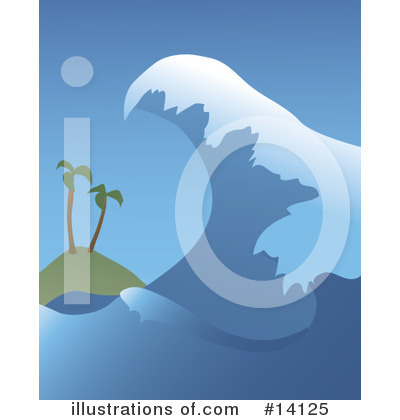 Tsunami Clipart #14125 by Rasmussen Images