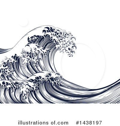 Tsunami Clipart #1438197 by AtStockIllustration