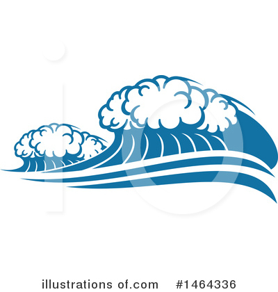 Waves Clipart #1464336 by Vector Tradition SM