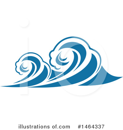 Wave Clipart #1464337 by Vector Tradition SM